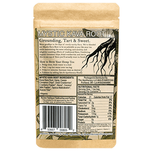 The Brothers Apothecary Tea | Mystic Kava - 60mg Full Spectrum CBD