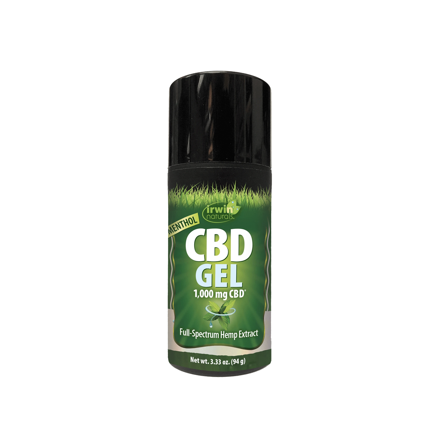 Irwin Naturals Topical | 1000mg Menthol CBD Gel - Full Spectrum CBD