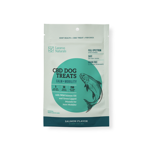 Lazarus Naturals Pet Treats | Calm & Mobility 250mg - Full Spectrum CBD