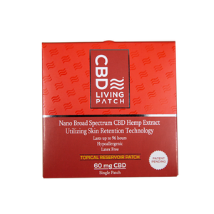CBD Living Patch | 60Mg Nano-Broad Spectrum