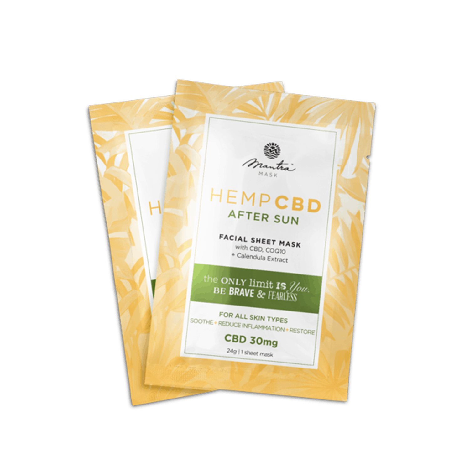 Mantra Sheet Mask | After Sun Mask 30mg