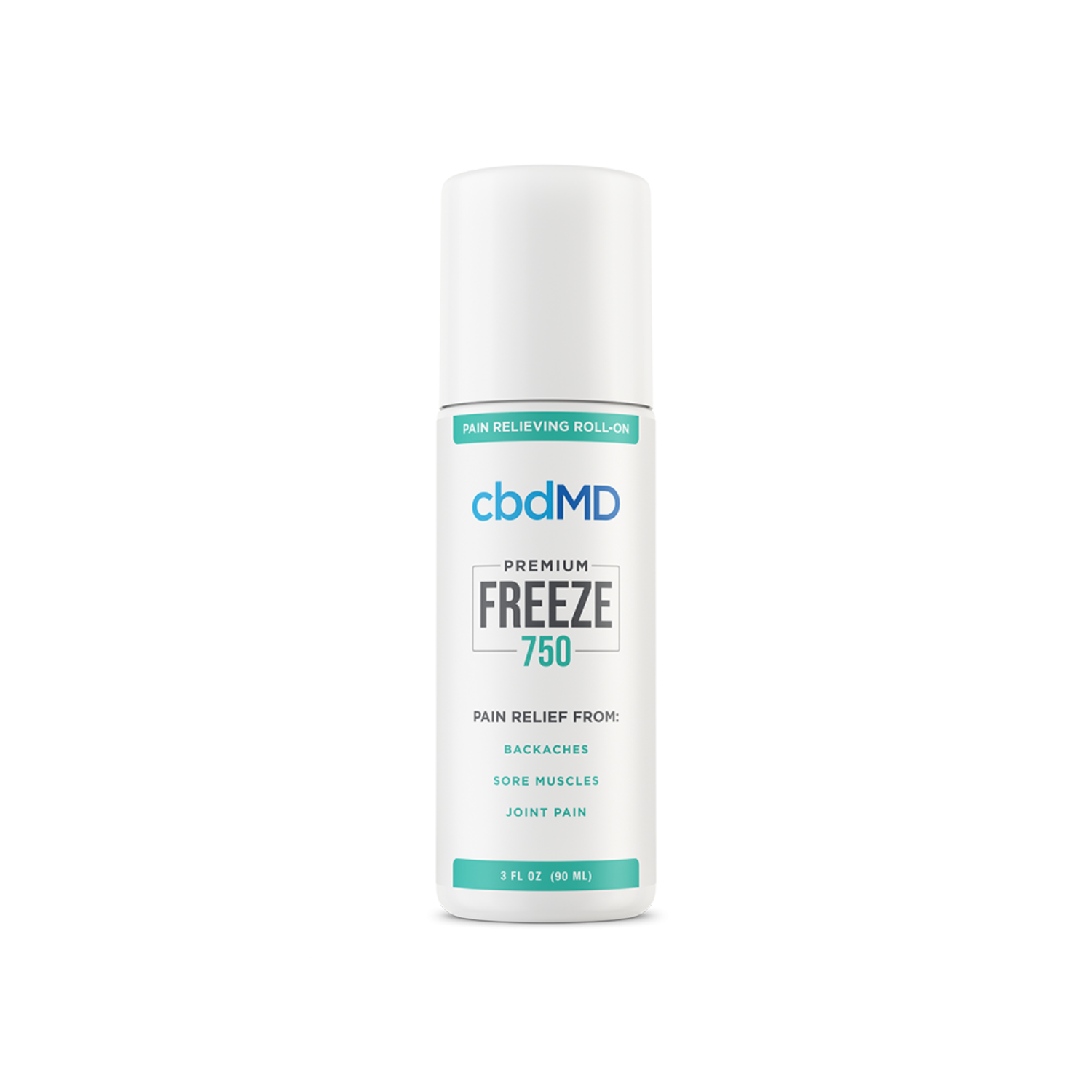 CBDMD Freeze Roller | 750mg - Broad Spectrum