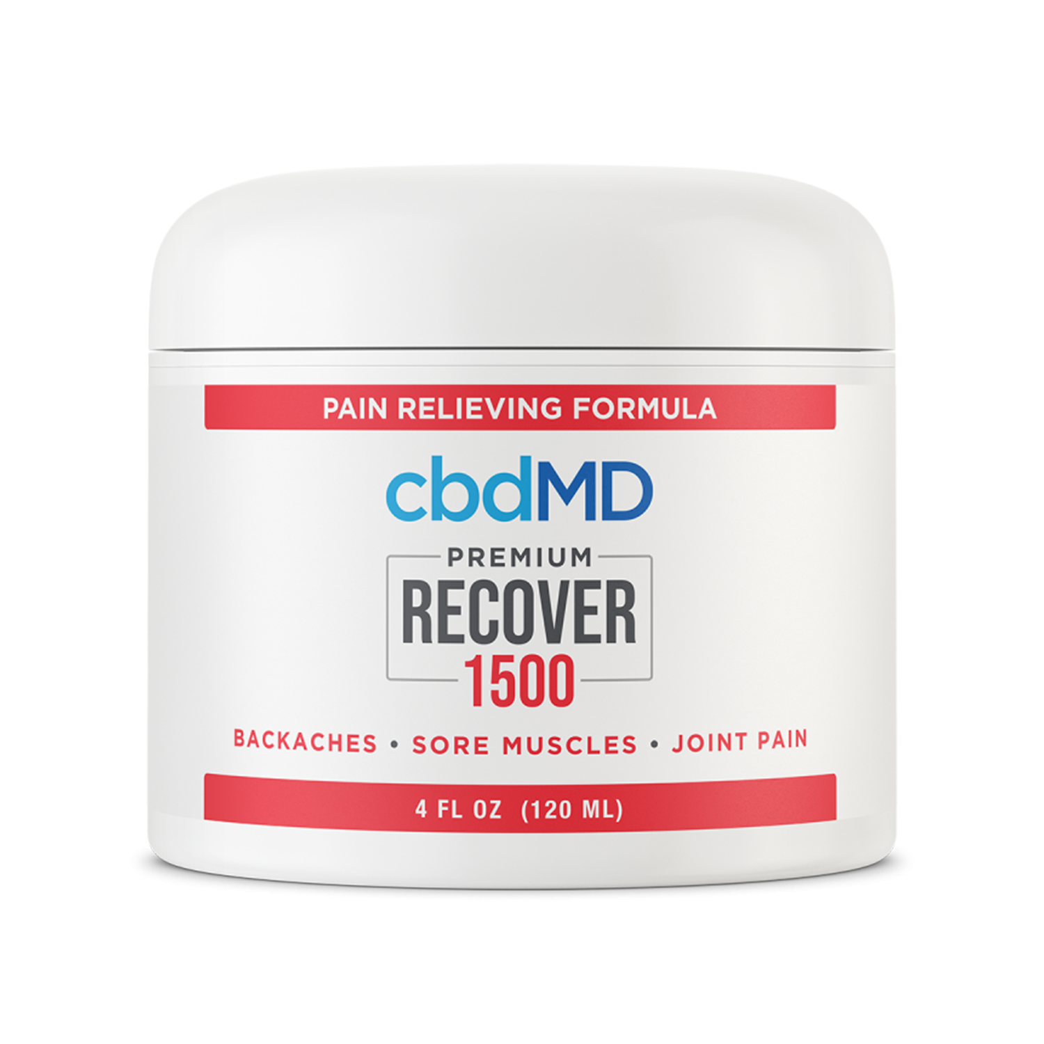 CBDMD Inflammation Cream | 1500mg - Broad Spectrum