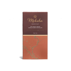 Moksha Chocolate | 65% Criollo Dark 100mg - Full Spectrum CBD