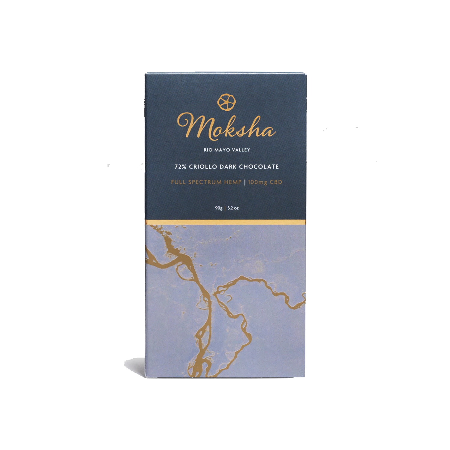 Moksha Chocolate | 72% Criollo Dark 100mg - Full Spectrum CBD