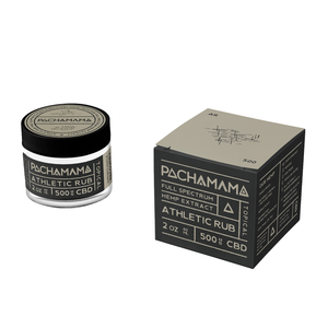Pachamama Topical | Athletic Rub 500mg - Full Spectrum CBD
