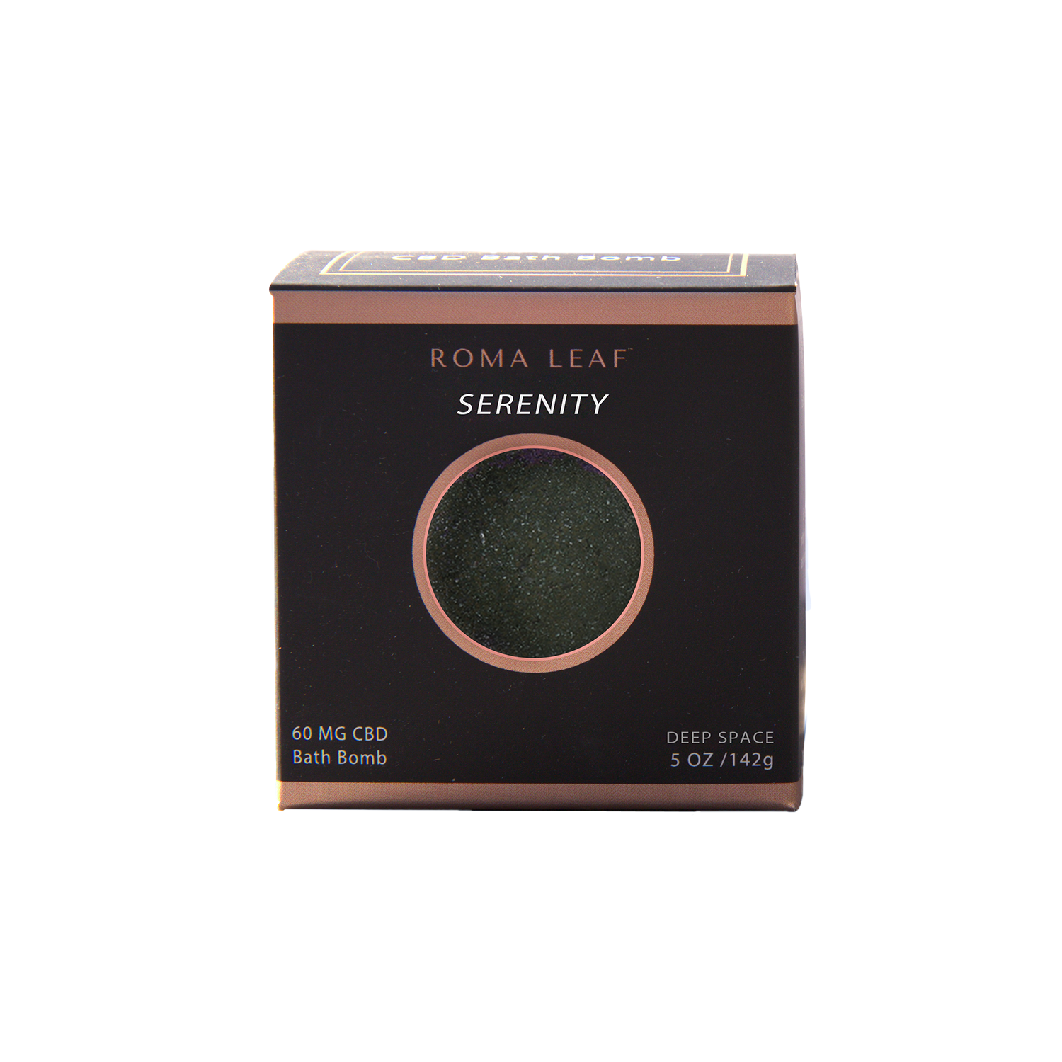 Roma Leaf Bath Bomb | Serenity 60mg - Broad Spectrum CBD