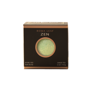 Roma Leaf Bath Bomb | Zen 60mg - Broad Spectrum CBD