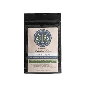 Tranquility Tea | Mellow Mint- 50mg Full Spectrum CBD