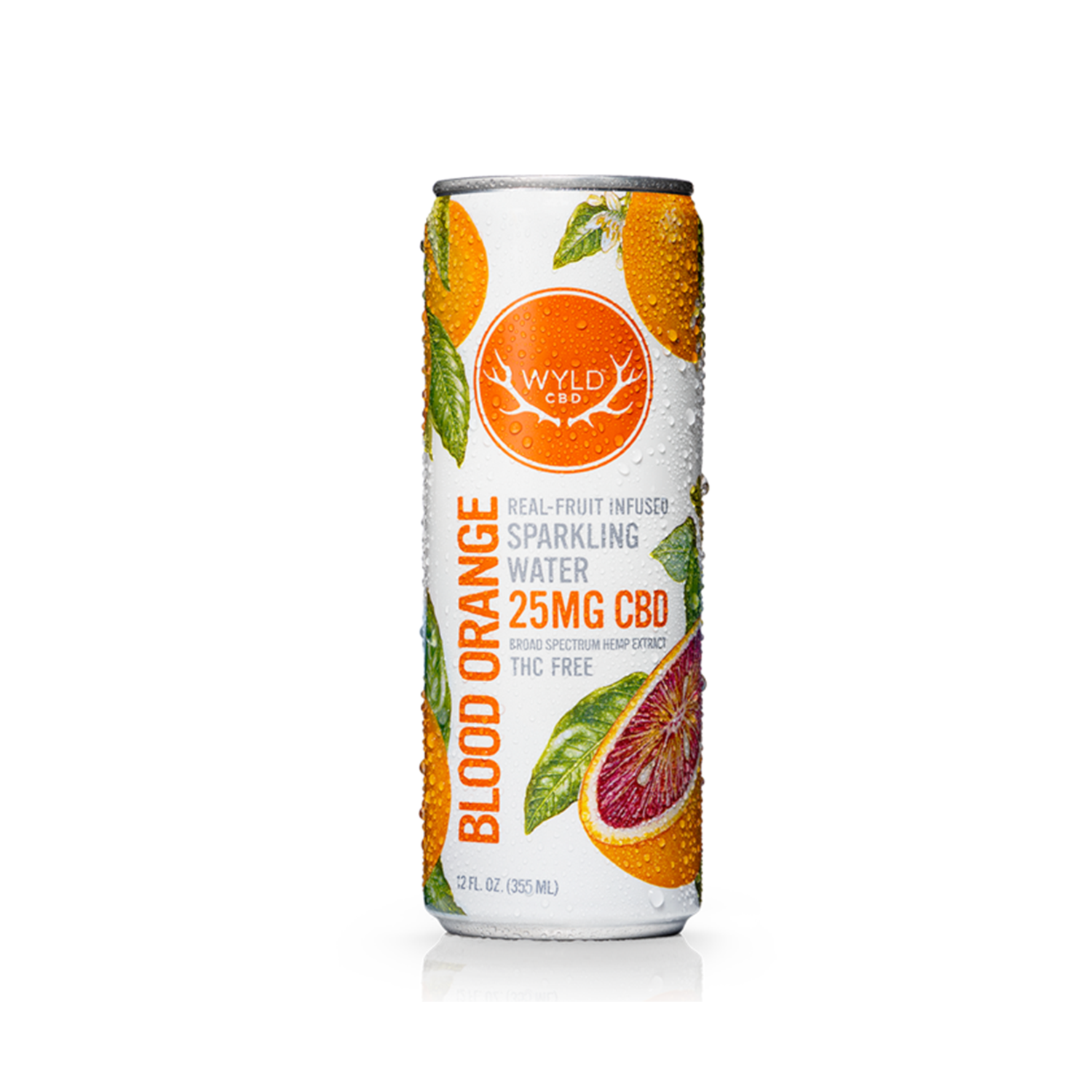 Wyld Sparkling Water | Blood Orange 25mg CBD