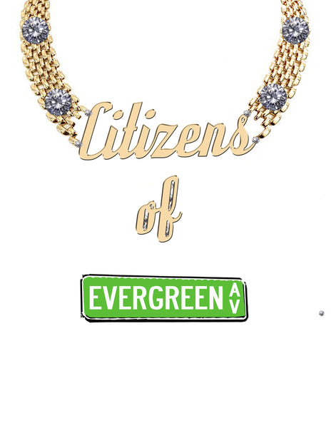 """Citizens Of Evergreen Ave"" T-Shirt"