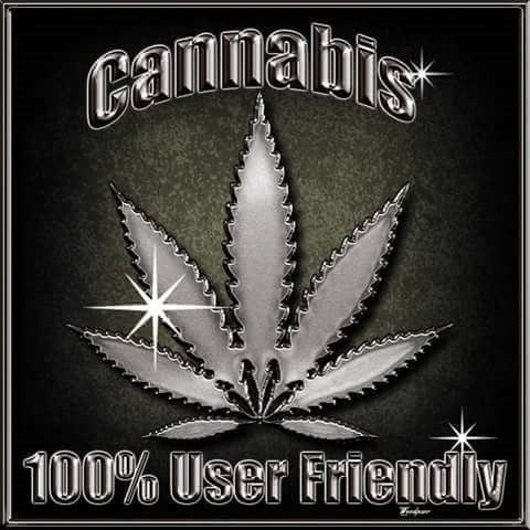 """Cannabis 100% User Friendly"""