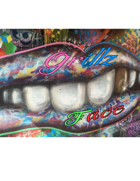 """Grillz face"" T-Shirt"