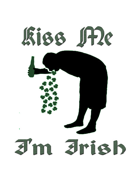 """Kiss Me i'm Irish"" T-Shirt"