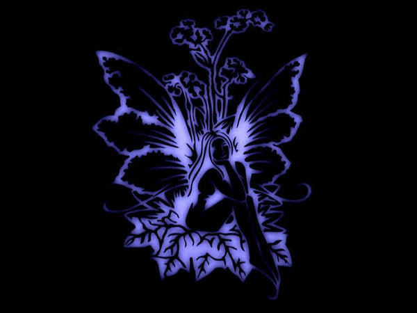 """Black Light Fairy"" T-Shirt"