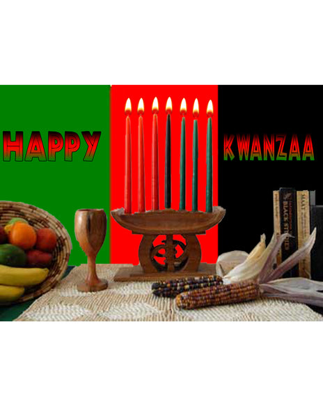 """Happy Kwanzaa"" T-Shirt"