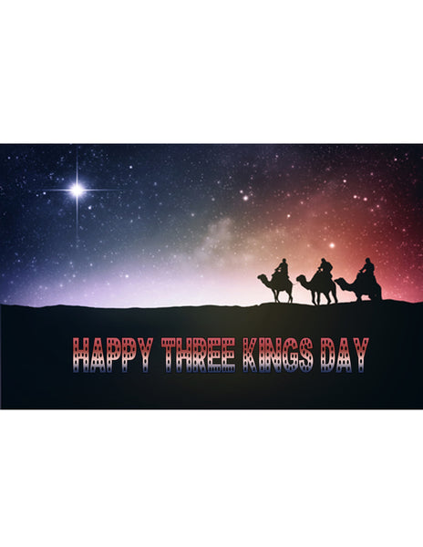 """Happy Three Kings Day"" T-Shirt"