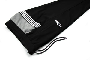 RETRO TRACK PANT BLACK / GREY JA-4100