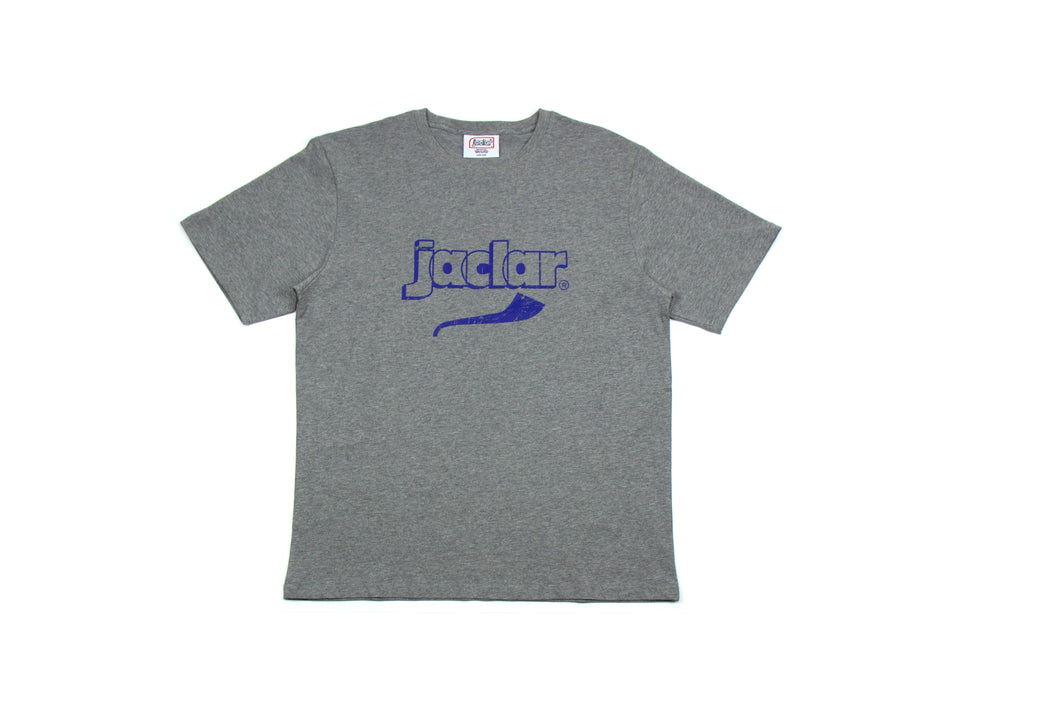 JA-5000 RETRO JACLAR TEE - HEATHER GREY