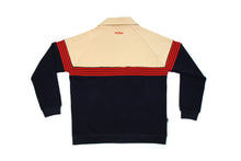 Load image into Gallery viewer, RETRO TRICOT TRACK JACKET NAVY / KHAKI JA-4000