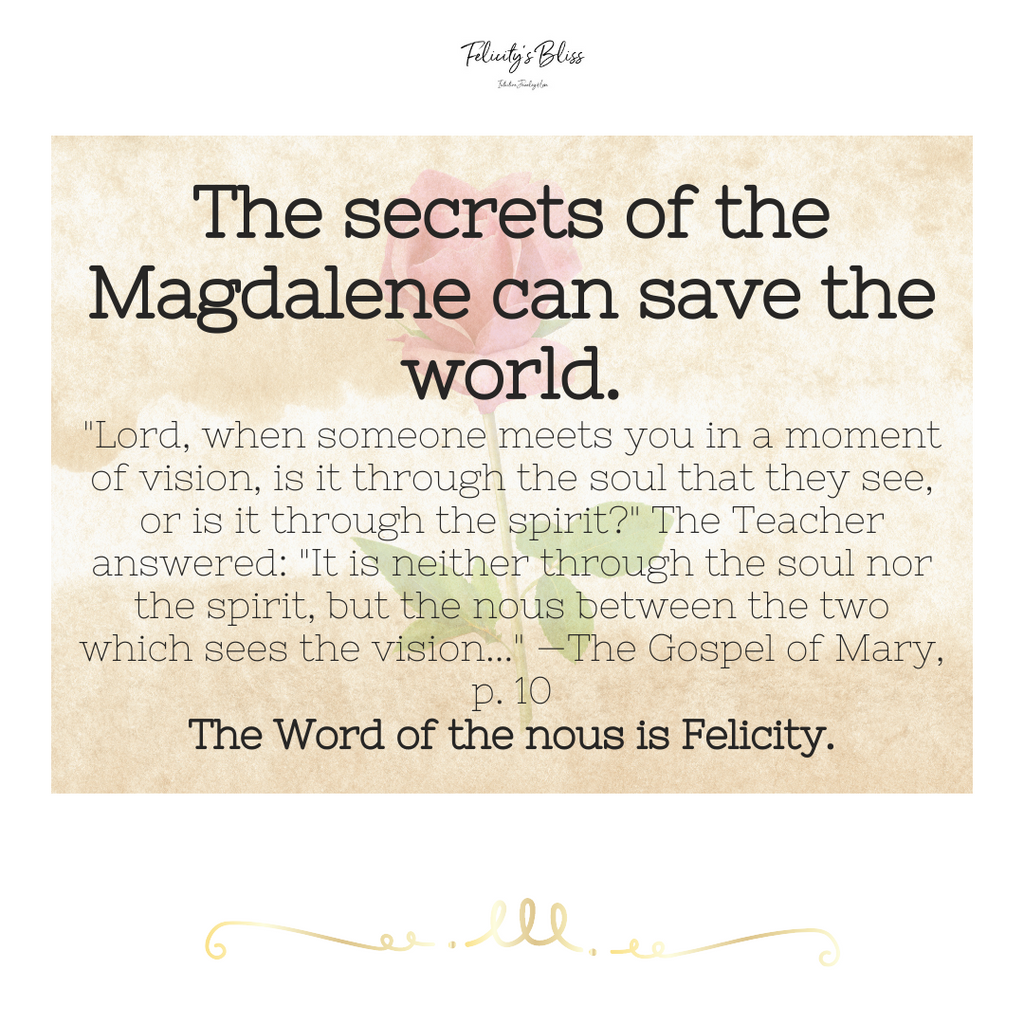 The Secrets of the Magdalene