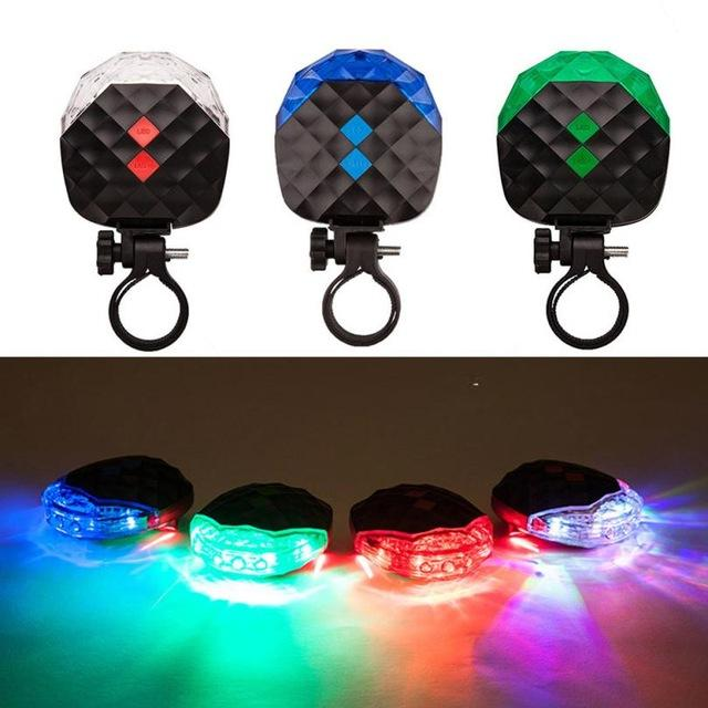 Youthful Style Bright 5 LED+2 Laser Cycling
