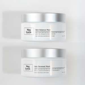 Glow Up Mask Bundle (ANTI BREAKOUT + ANTI AGEING) - Meg Lewis the Store