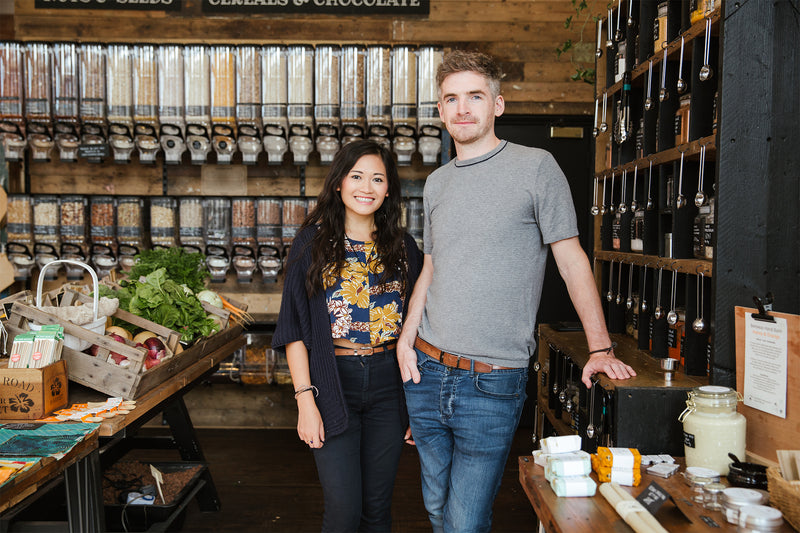 Five step guide to setting up a zero waste store