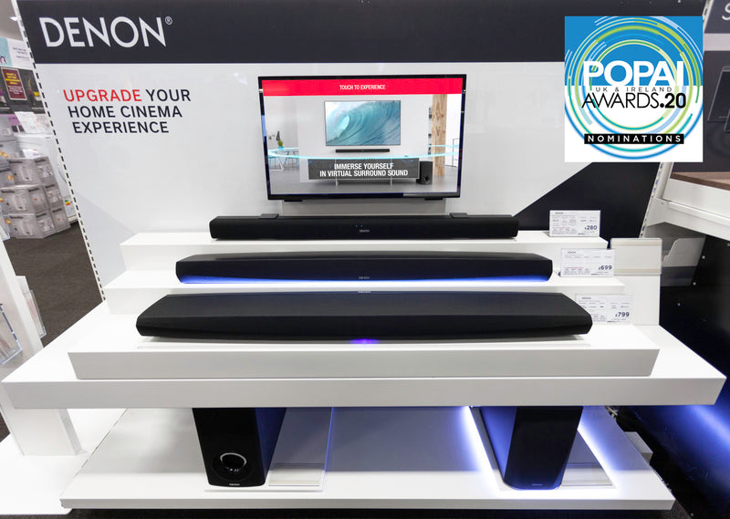 HL Display keeps the music beating with award-nominated soundbar wall HL POS Centre