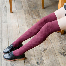 Load image into Gallery viewer, Women's Over Knee Thigh High Long Socks