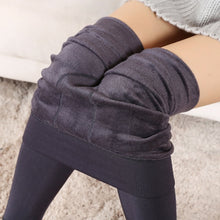 Load image into Gallery viewer, Warm Plush Casual High Waisted Cashmere Leggings