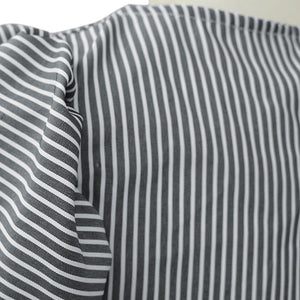 Lantern Striped Blouse