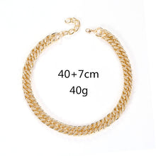 Load image into Gallery viewer, Chunky Cuban Link Choker Necklace