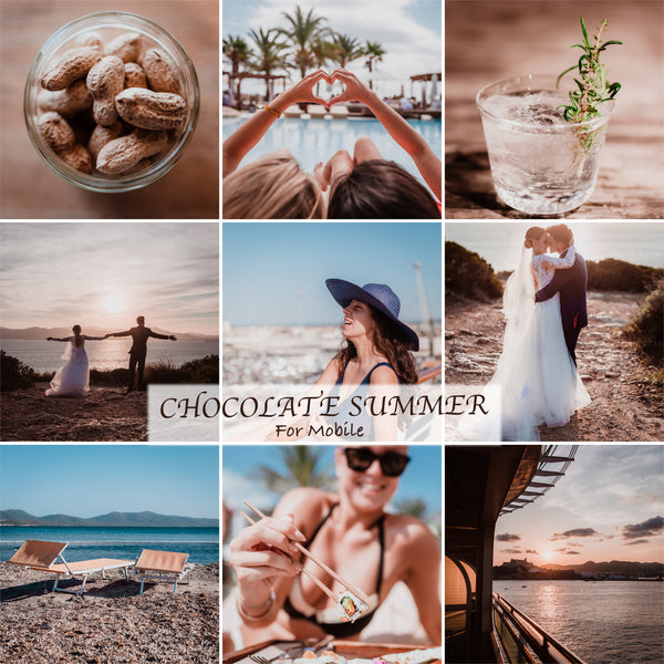 Mobile Preset Chocolate Summer