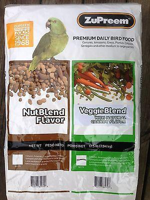 ZuPreem Veggie Blend™ with Natural Flavor vitamin minerals Parrot Food