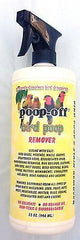 Poop Off Bird Poop Remover wipes bird, parrot safe cleaning product