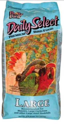 PRETTY BIRD PELLETS daily select large parrot food macaw bird diet 20lb