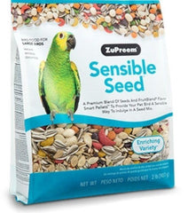 Zupreem sensible seed large Bird food Parrot diet seed mix 2lb