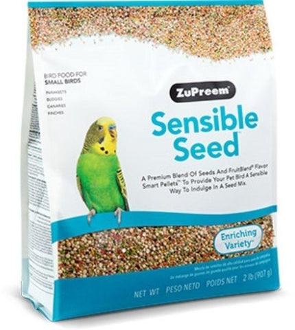 Zupreem sensible seed small Bird food Parrot diet mix canary, keet 2lb