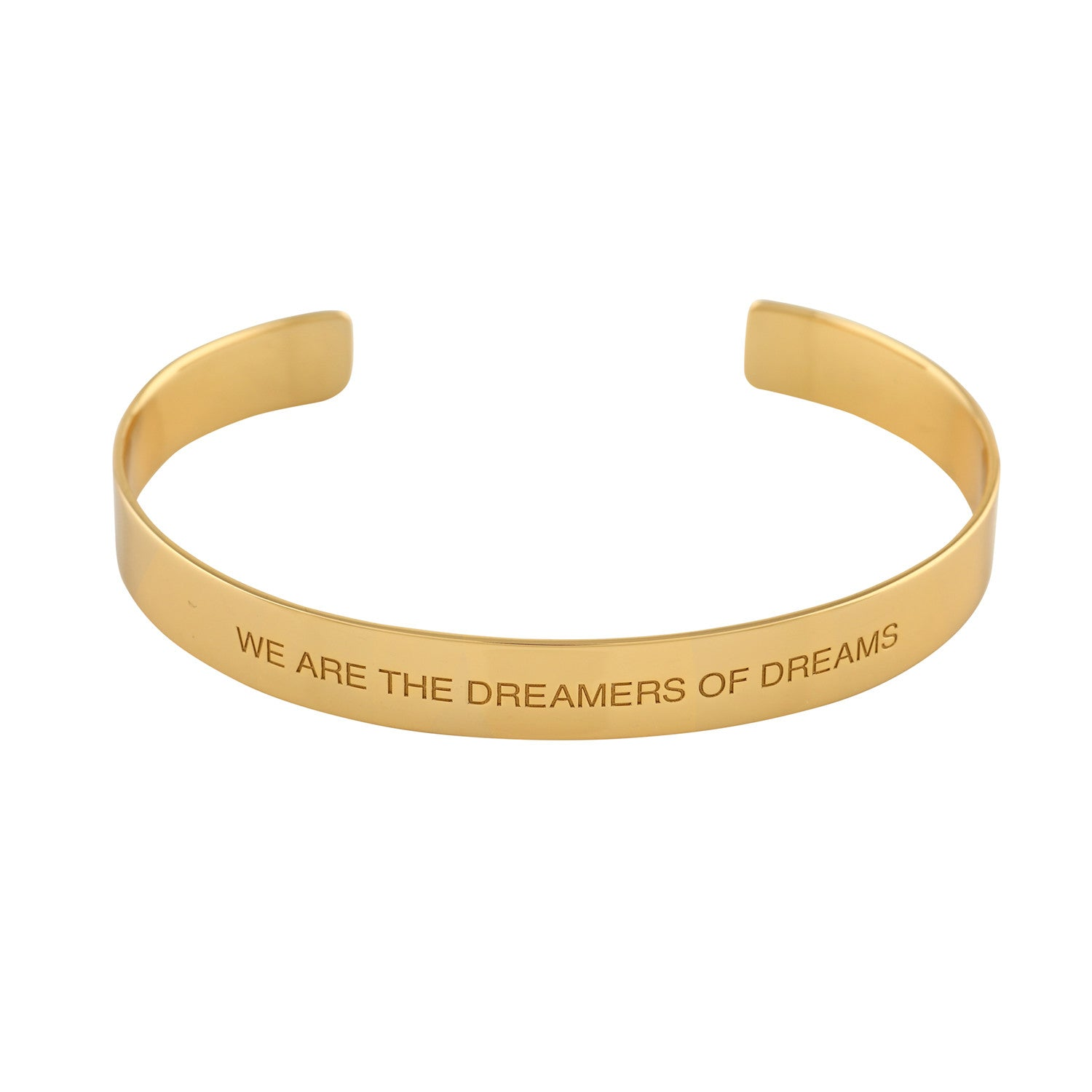 """Dreamers"" Mantra Cuff - VETIVR  - 1"
