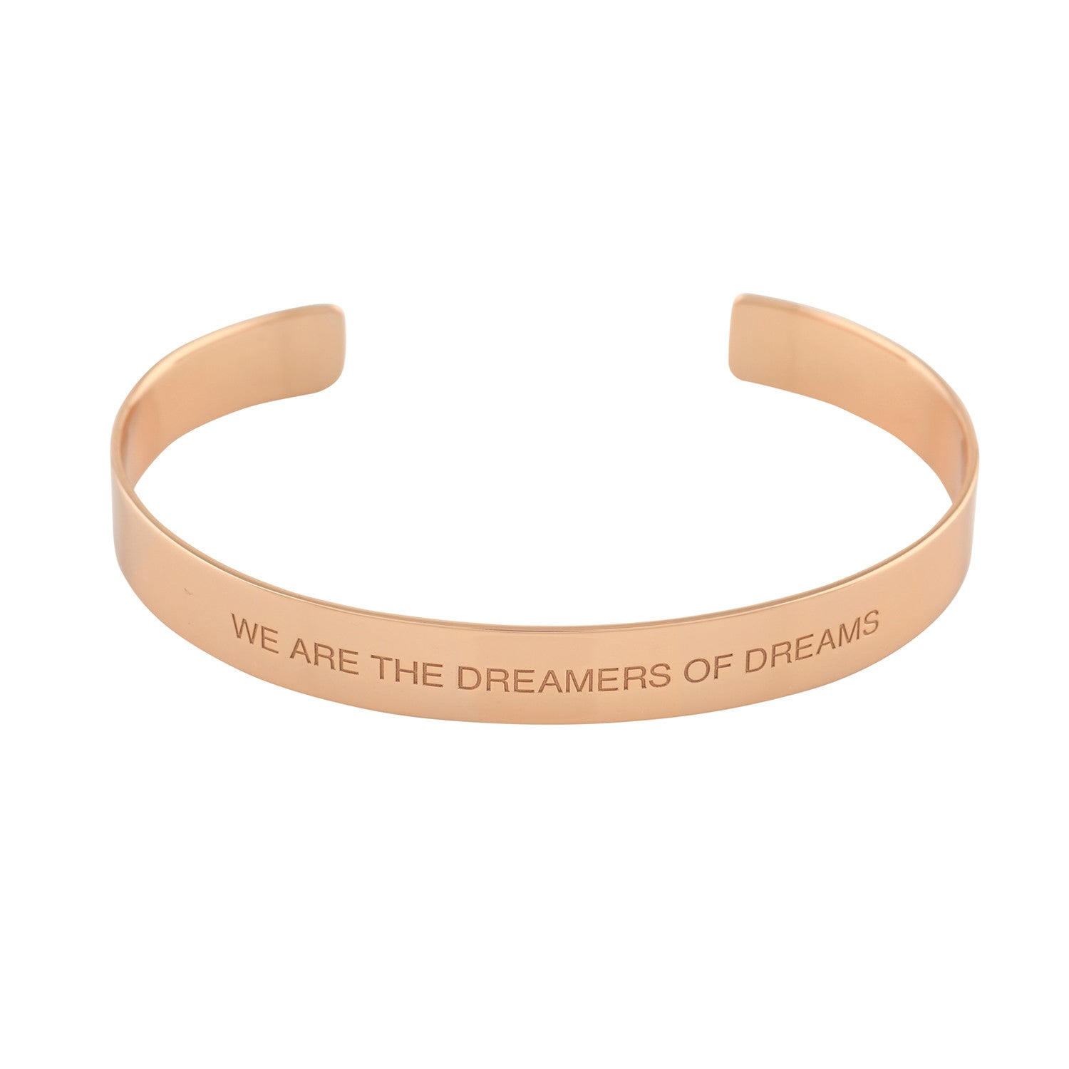 """Dreamers"" Mantra Cuff - VETIVR  - 2"