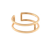 Split Bar Ring - VETIVR  - 5