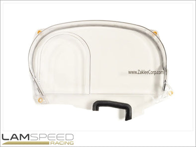 Zaklee Clear Cam Gear Cover for Evo 9 MIVEC - available from Lamspeed Racing.