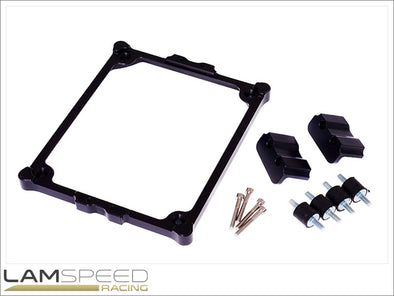 EMtron KV Series ECU Mounting Kit - available from Lamspeed Racing.