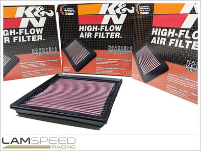 K&N Air Filter - Toyota Yaris GR4 (2020+) - Panel Type - available from Lamspeed Racing.