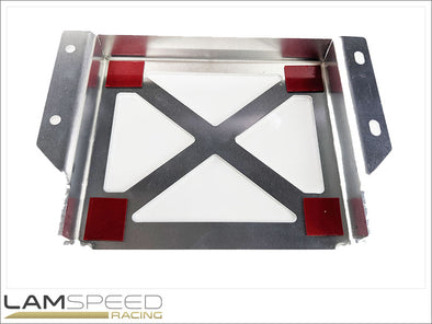 Lamspeed Racing - EMtron KV8 ECU Holder - Mitsubishi Evo 7-9 - available from Lamspeed Racing.