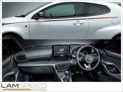 Toyota GR - Yaris GR4 - Interior Panel Kit - available from Lamspeed Racing.