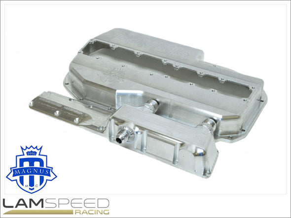 Magnus Motorsports 4G63 Mitsubishi Evo 4-9 Dry Sump Kit - TANK NOT INCLUDED.