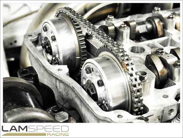Magnus Motorsports - Adjustable Cam Gears/MIVEC Delete - Mitsubishi 4B11 - available from Lamspeed Racing.