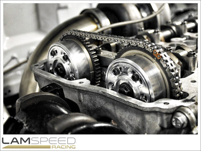 Magnus Motorsports - Adjustable Cam Gears/MIVEC Delete - Mitsubishi 4B11 - Available from Lamspeed Racing